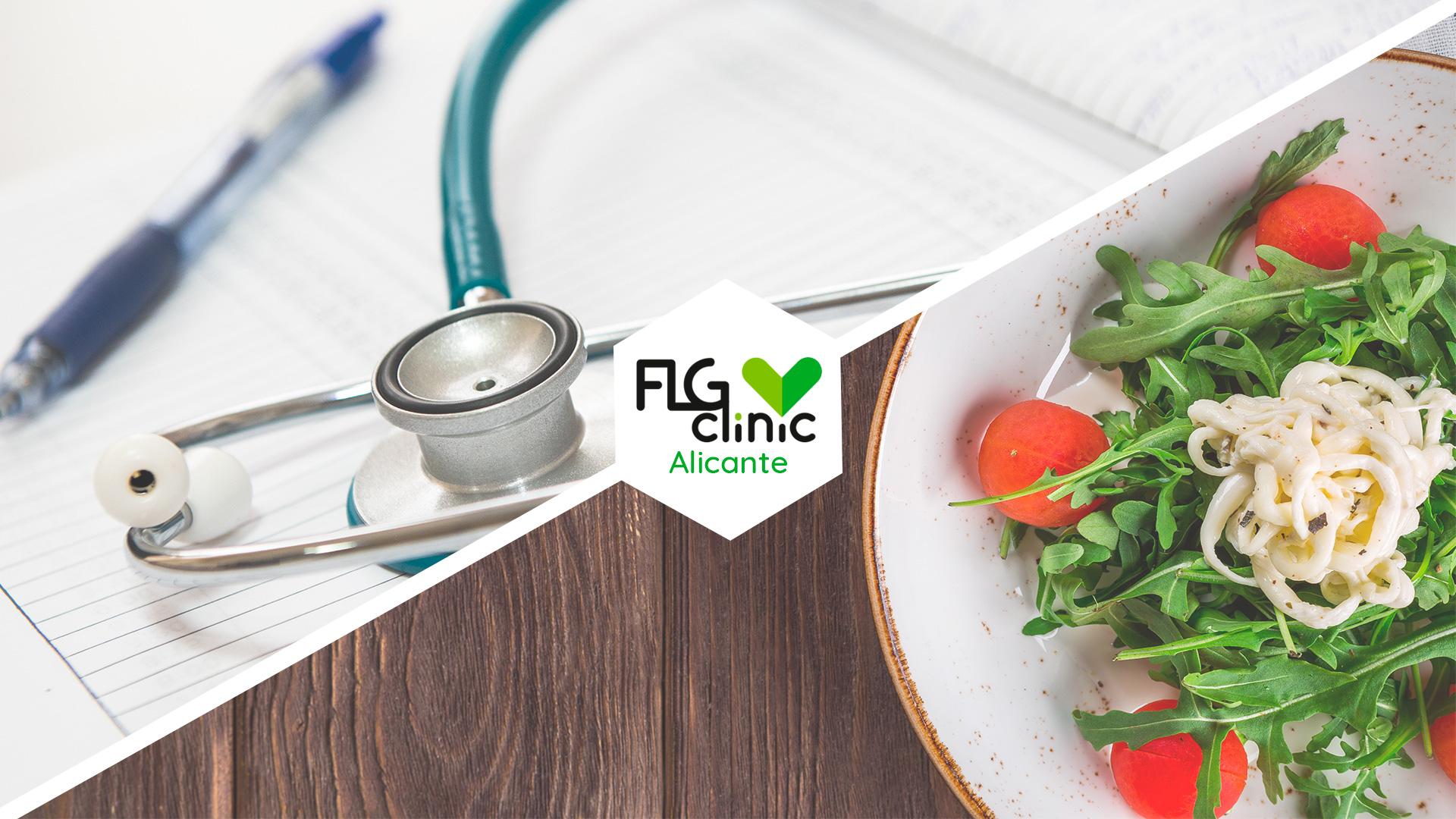 Valoración y asesoramiento dietético en FLG Clinic Alicante
